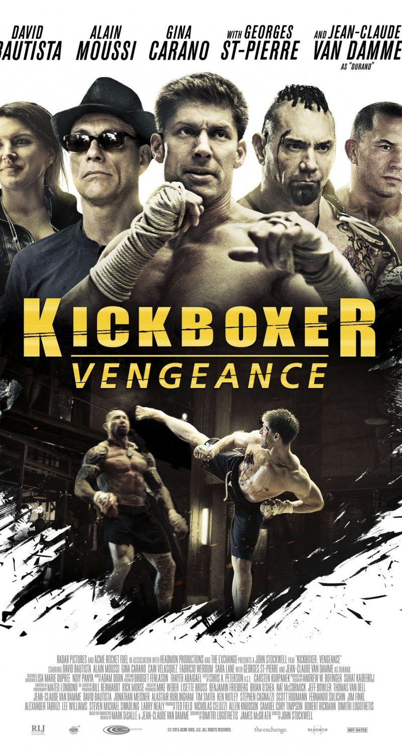 Friendly Fire – Episode 44 – Kickboxer: Vengeance Review