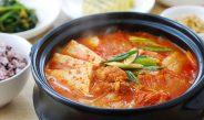 Traditional Korean Kimchi Jiggae